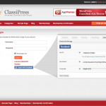 ClassiPress Facebook Integration