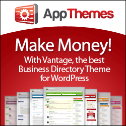 AppThemes Vantage - a business directory theme for WordPress